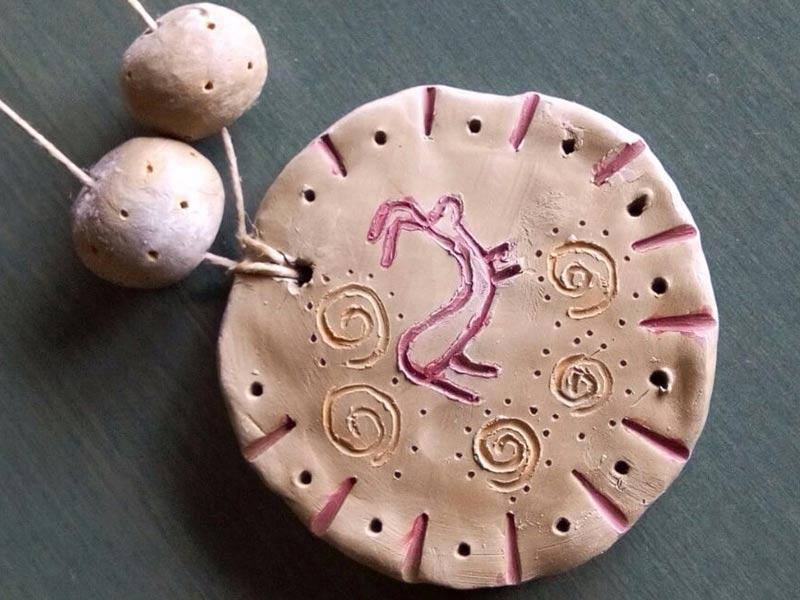 legambiente sernaglia realizzare gioielli preistorici